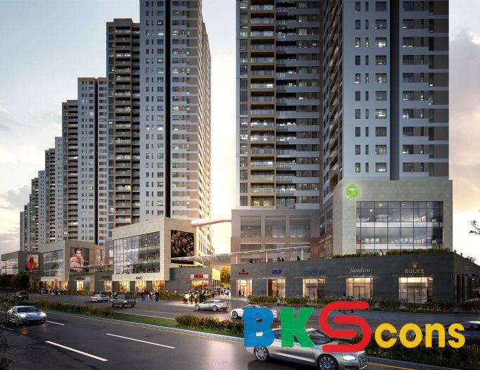 Thi công Block S2 dự án The Sun Avenue